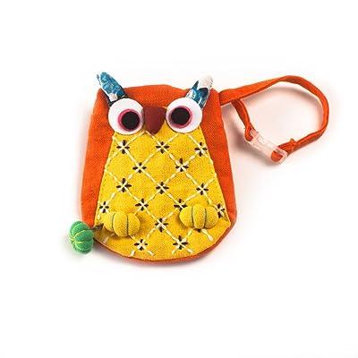 Kids Wallet / Backpack Charm- Owl