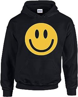 Amazon.com: Cara triste Emoji Pecho Jersey sudadera con ...