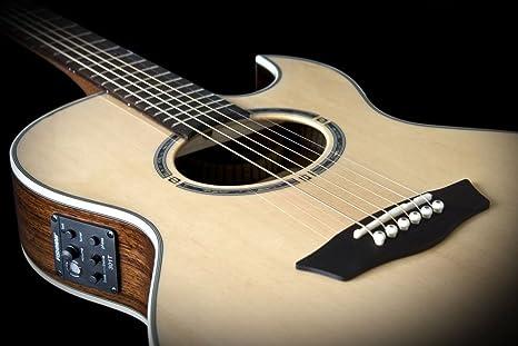 Washburn ea20snb de O Guitarra acústica, 6 cuerdas: Amazon.es ...