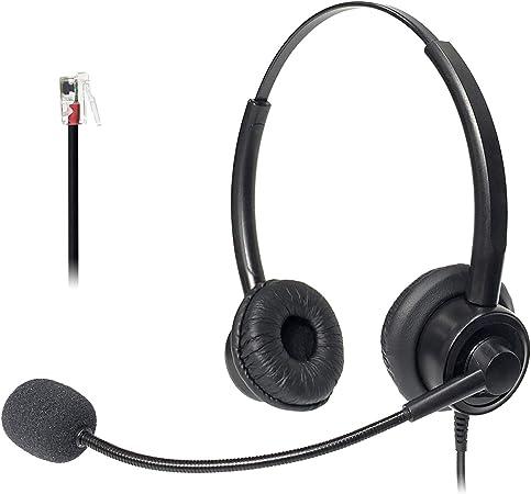 Xintronics Telefon Headset Rj11 Dual Mit Noise Elektronik
