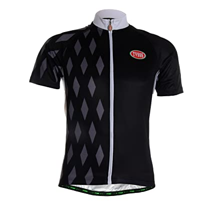 7b297654f TVSSS Men s Breathable Cycling Jersey Black Special Design Short Sleeve  Sporting Clothes Bike Wear Quick Dry