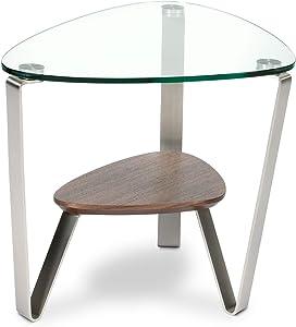 BDI Furniture Dino End Table, Natural Walnut