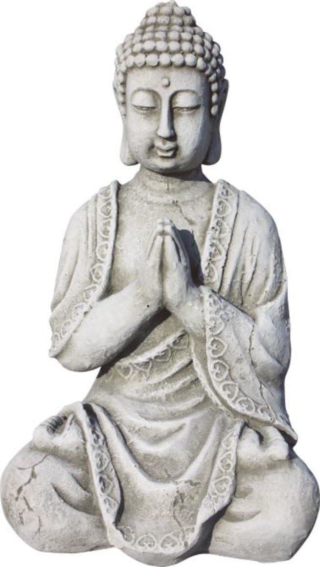 AnaParra Figura Buda Meditación para el jardín Decorativa 33cm ...