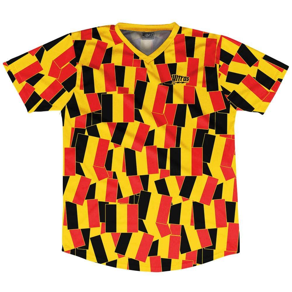 Ultras Belgium Party Flags Soccer Jersey
