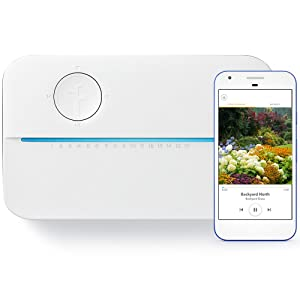 Rachio 3 WiFi Smart Lawn Sprinkler Controller, Works with Alexa, 16-Zone