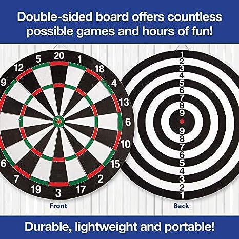 Amazon.com: Dartboard profesional con cableado más delgado ...