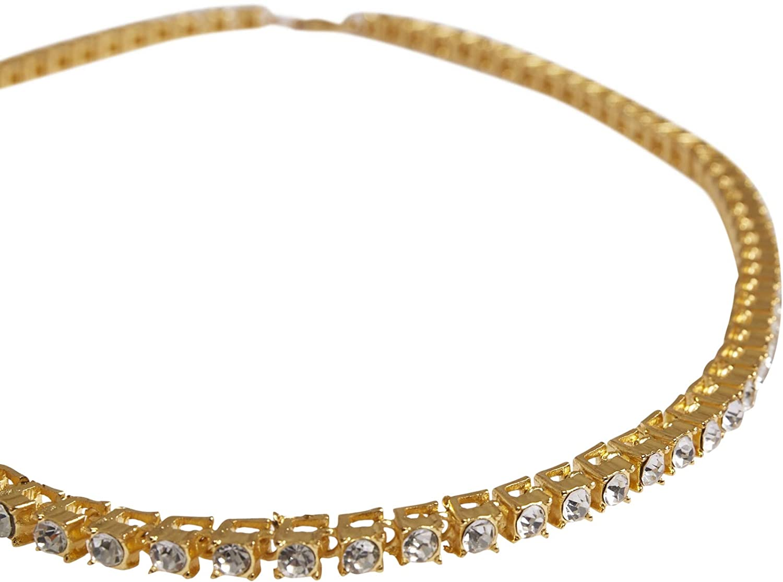Urban Classics Necklace with Stones Streetwear Accessori
