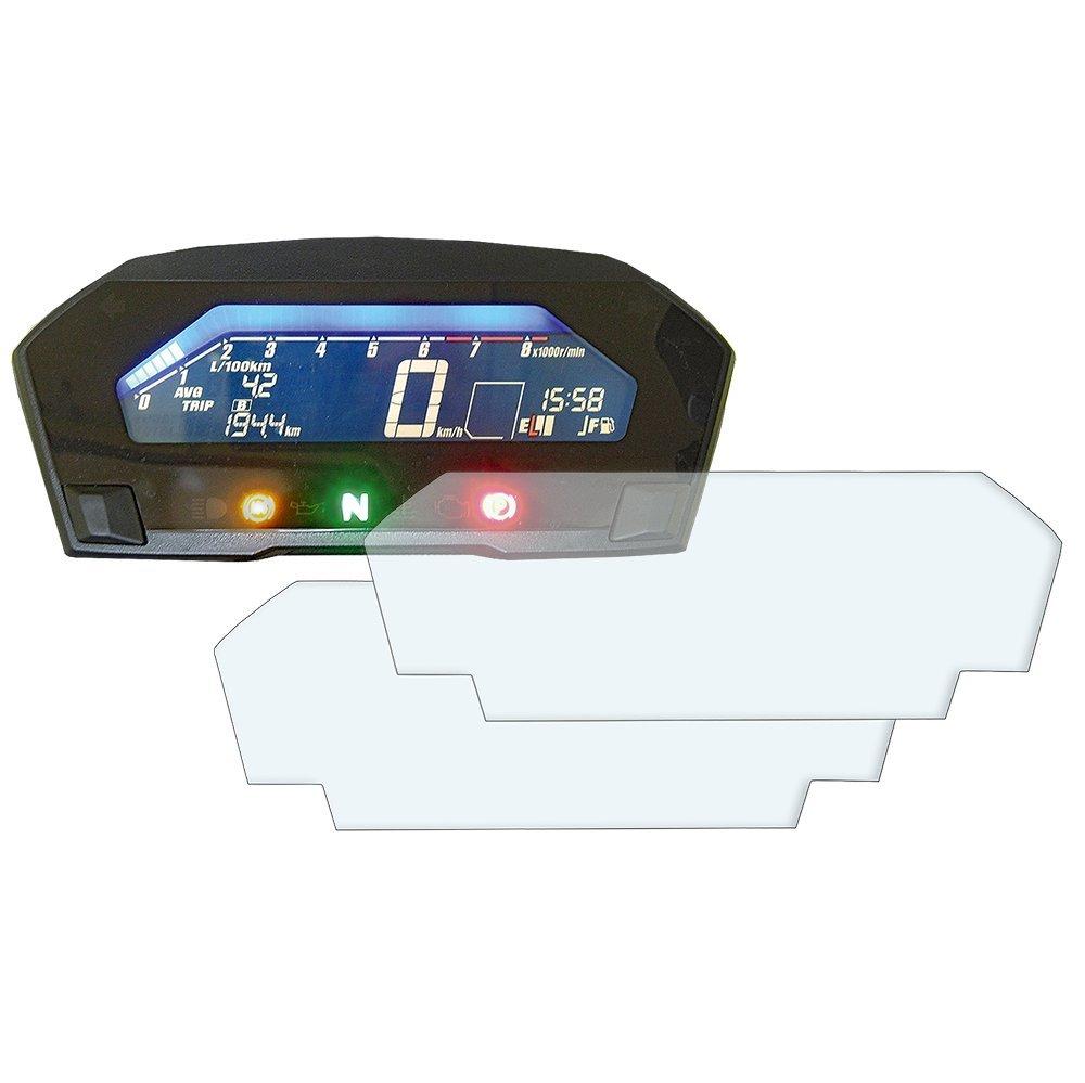 Integra 750 Displayschutzfolie Tachoschutzfolie Screen Protector : 2 x Entspiegelt Speedo Angels