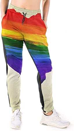 Yaitty Pantalones de chándal Forma de corazón Gays Lesbianas ...