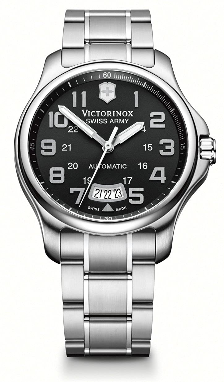 e0a82955 Amazon.com: Kevin Jewelers Mens Victorinox Swiss Army Men's 241370 Officers  Mecha Watch: Victorinox: Watches