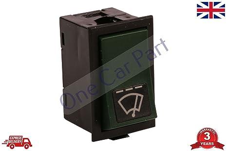 F10 F12 F16 - Interruptor de limpiaparabrisas para camión, 6 pines, color verde