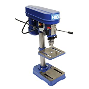 HICO 8-Inch Bench Top Drill Press 5 Speed Rotary Tool Work Station, Height Adjustable
