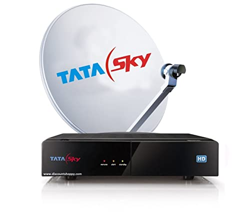 Tata Sky Hd Set Top Box With 2 Month Dhamaal Mix Hd Amazon