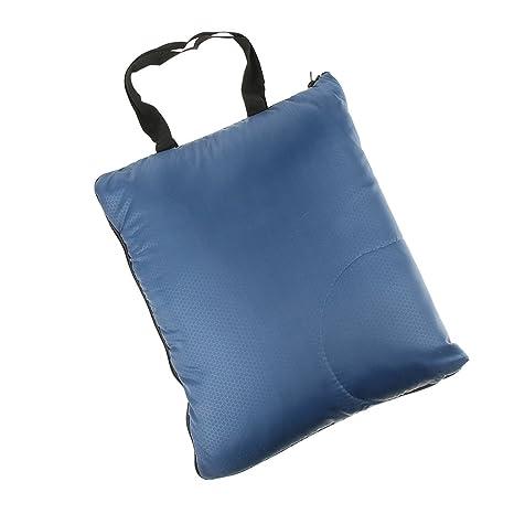 D DOLITY 1 Unidad Bolsa Saco de Dormir Adultos Unuisexo Caliente Duradero Excurnismo Duradero - Azul