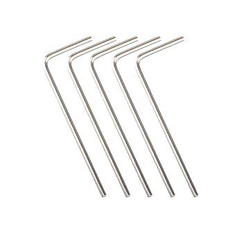 5 llaves de polea hexagonales M4 de 2 mm para impresora 3D Ender 3 ...