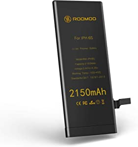 Battery for iPhone 6S, New 0 Cycle Higher Capacity Battery Replacement for iPhone 6S,Only for iPhone 6S Battery