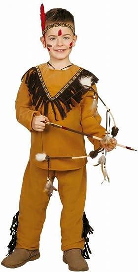 Disfraz de Indio (Talla 4-6 Años): Amazon.es: Juguetes y juegos