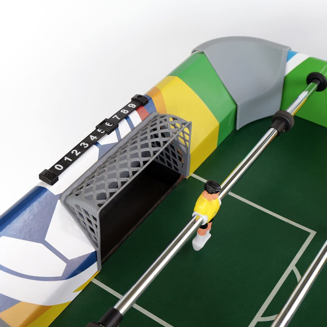 Juego de 4 ft deporte fútbol mesa, mesa de fútbol, 47.75