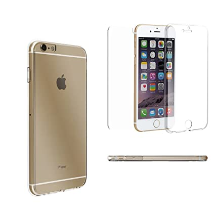 new styles c8e0b e5421 Beyond Cell®Tri Max®Iphone 6 plus Case, 6S Plus Cover Ultra Slim  360°Protection Screen Protector Clear Case[Shock Absorbing][Full  Body]Crystal ...