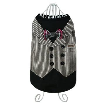 pawow mascota perro esmoquin traje boda traje disfraz con ...
