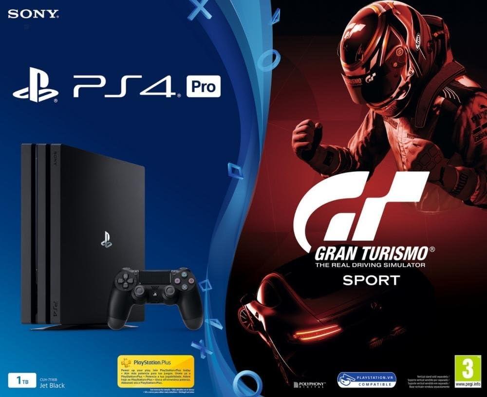 PS4 Pro 1 To + Gran Turismo Sport + Qui es-tu ? (Jeu PlayLink a télécharger): Amazon.es: Videojuegos
