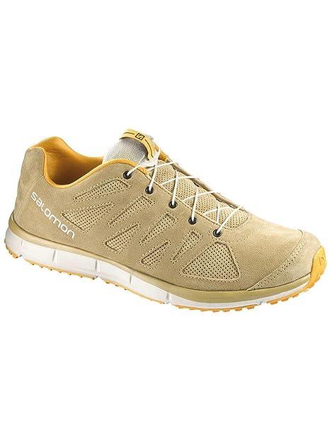 d2fc070267de Salomon Kalalau Leather Mens Trail Running Shoes