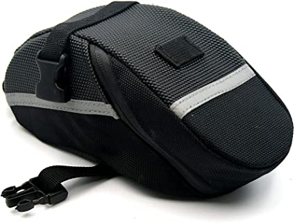Bicycle Bike Storage Saddle Bag Seat Outdoor Cycling Tail Rear Pouch Waterproof
