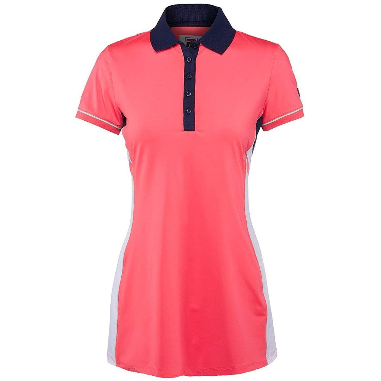 5ac217dbff Fila Heritage Tennis Polo Dress Diva Pink/White/Navy/Mint XS at ...