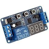 KKmoon 12V Modulo Relè Delay Timer Digitale Control Switch Relay Module, LED Display