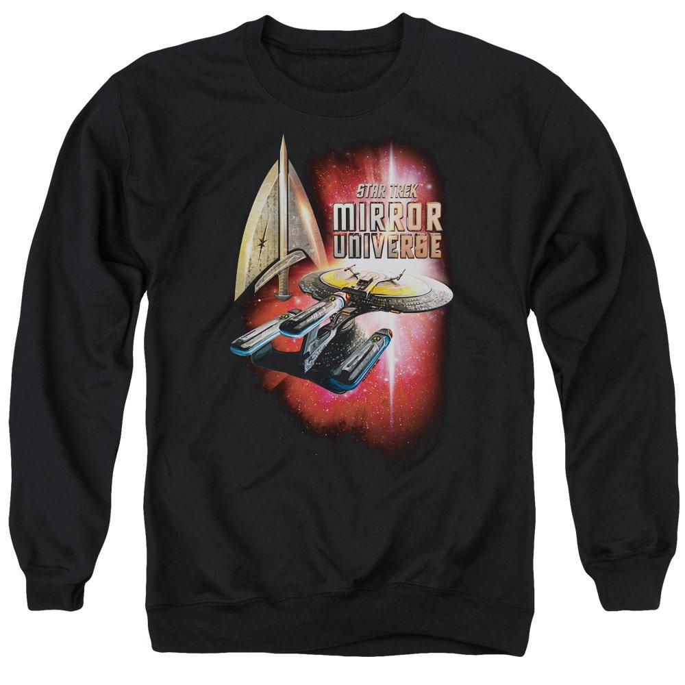 Star Trek - - Men& 039;s Mirror Enterprise Sweater