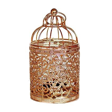 Amazon Com Qingsun Metal Tealight Candle Holder Lanterns Creative