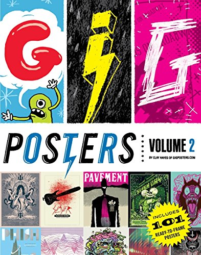 Gig Posters Volume 2: Rock Show Art of the 21st (2007 Concert Poster)