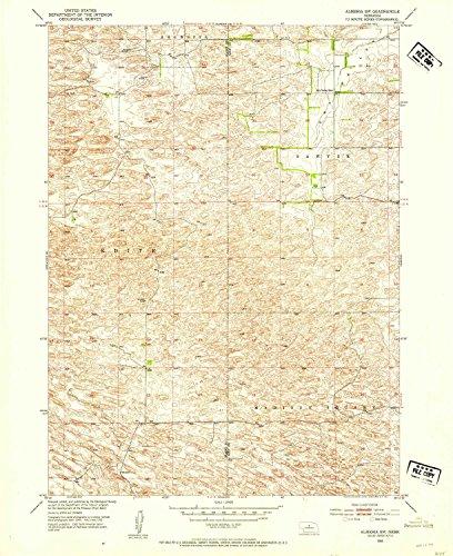 (YellowMaps Almeria SW NE topo map, 1:24000 Scale, 7.5 X 7.5 Minute, Historical, 1952, Updated 1954, 26.9 x 22 in - Tyvek)