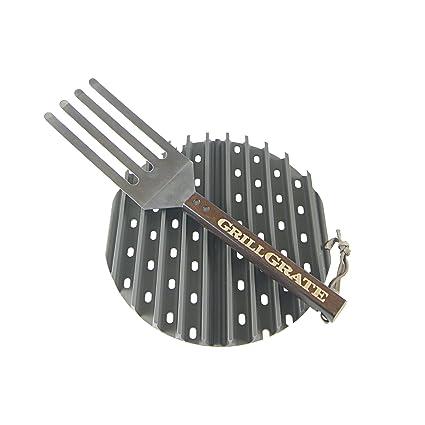 Amazon.com: grillgrates para parrillas de la Ronda de Cobb ...