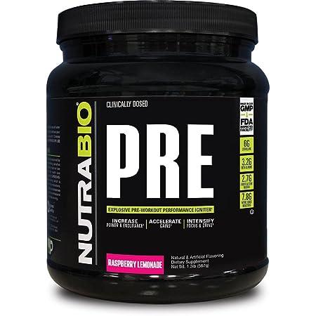 NutraBio PRE Workout V5 – Raspberry Lemonade