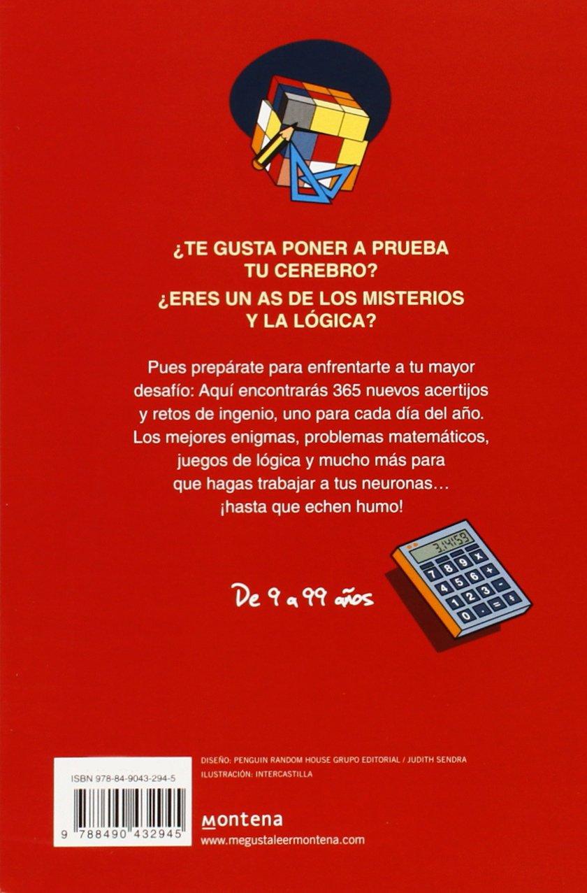 365 acertijos y retos de ingenio No ficción ilustrados: Amazon.es: Miquel  Capó: Libros
