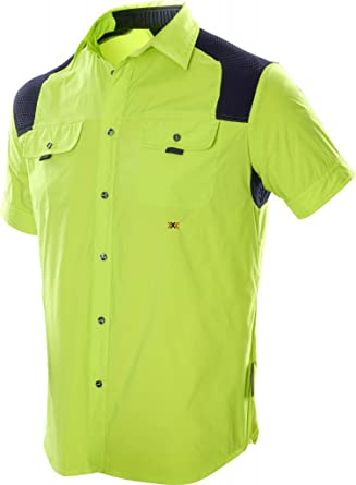 X-Bionic Travel Hemd Shirt Short Men - Camisa/Camiseta para Hombre ...
