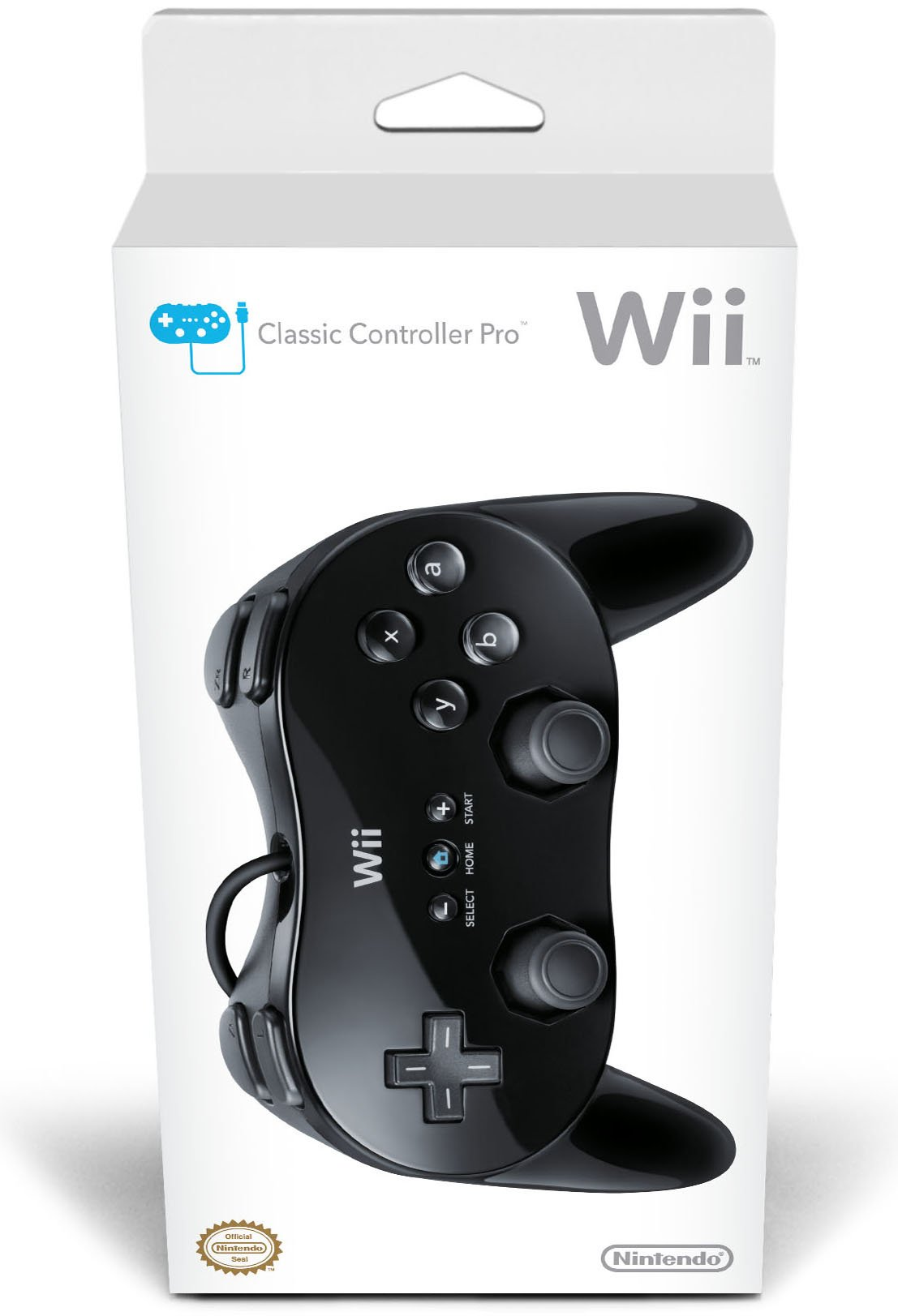 Wii Classic Controller Pro - Black - Nintendo Wii Standard Edition by Nintendo (Image #2)