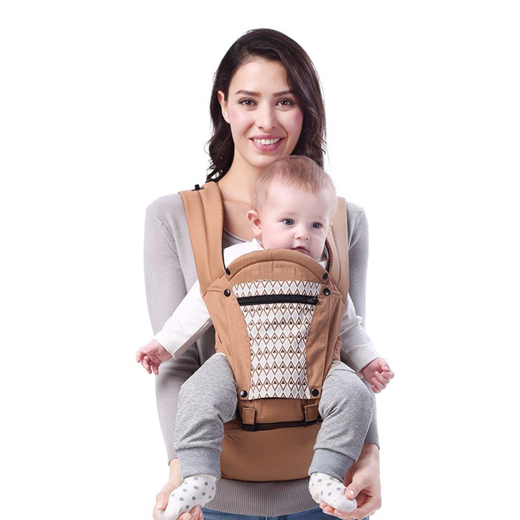 Babytrage Baby-Taillen-Schemel-Hüfte-Sitz-Breathable Multifunktionsbaumwollsitz-Vier Jahreszeiten mit Mutter und Baby-Baby-Puppe