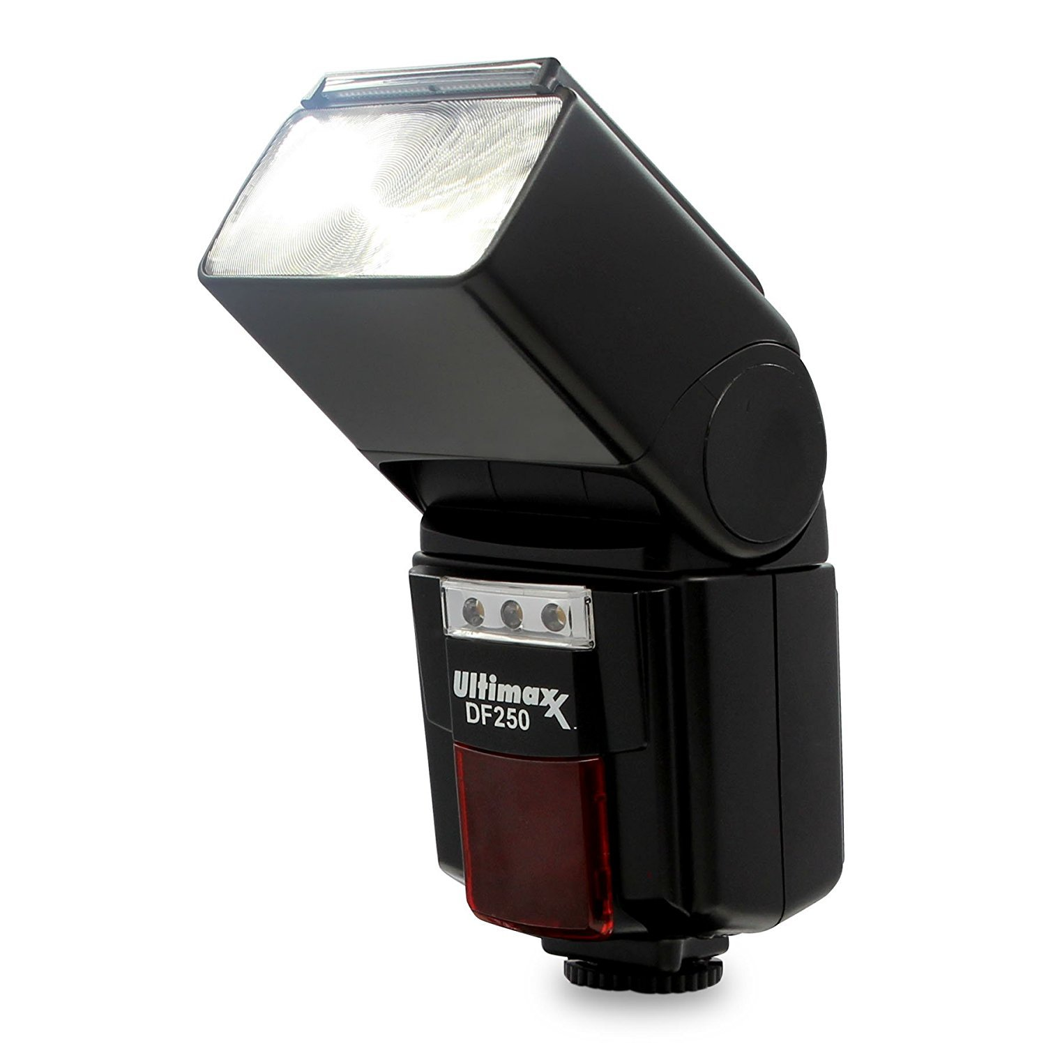 Ultimaxx High Power Automatic Flash with LED Light for Nikon D7500, D500, D600, D610, D700, D750, D800, D810, D850, D3100, D3200, D3300, D3400, D5100, D5200, D5300, D5500, D5600, D7000, D7100, D7200