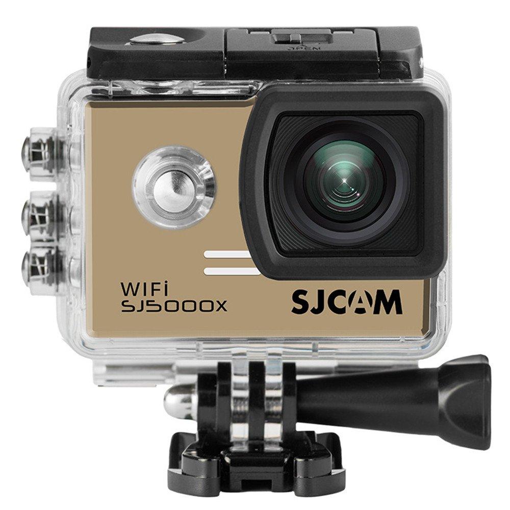 SJCAM SJ5000X スポーツカメラ 2.0インチ液晶 フルHD 防水 アクションカメラ Wi-Fi ドライブレコーダー 日本語説明書付 ゴールド B077M78NXL ゴールド ゴールド