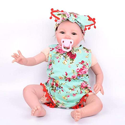 b37f444c8ef1 Amazon.com  Clothful 💓 1 Set Cute Baby Infant Girls Floral Ruffles Romper  Birthday Party Outfits Jumpsuit Hairband  Clothing