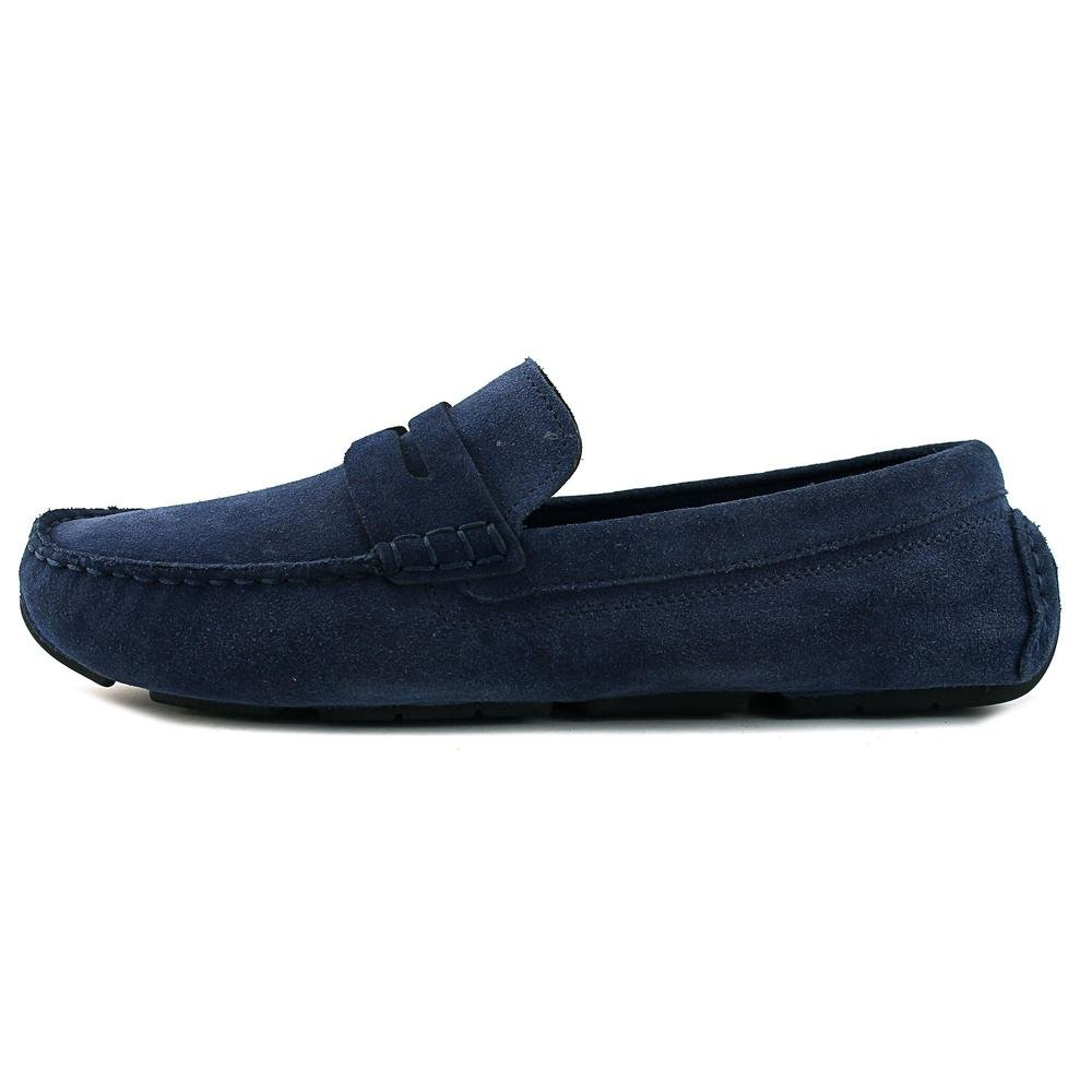 cb87a8e8173 Cole Haan Kelson Penny Loafer Drivers Blazer Blue Suede Shoes (8.5)   Amazon.ca  Shoes   Handbags