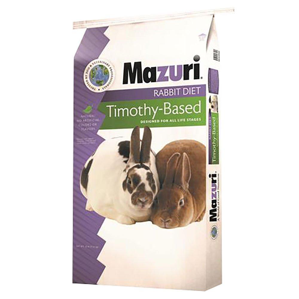 Mazuri Timothy Hay Rabbit Food, 25 lb Bag by Mazuri