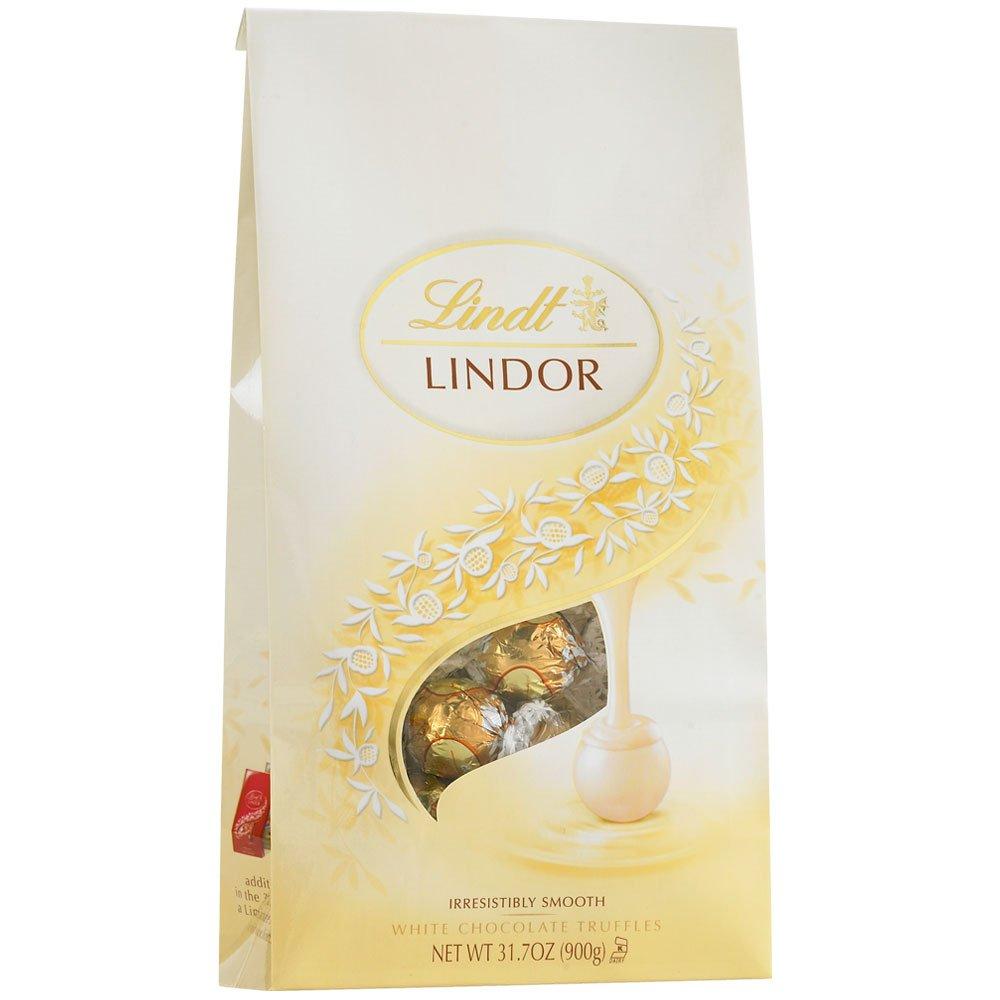 Amazon.com : White Chocolate LINDOR Truffles 75-pc Bag : Grocery ...