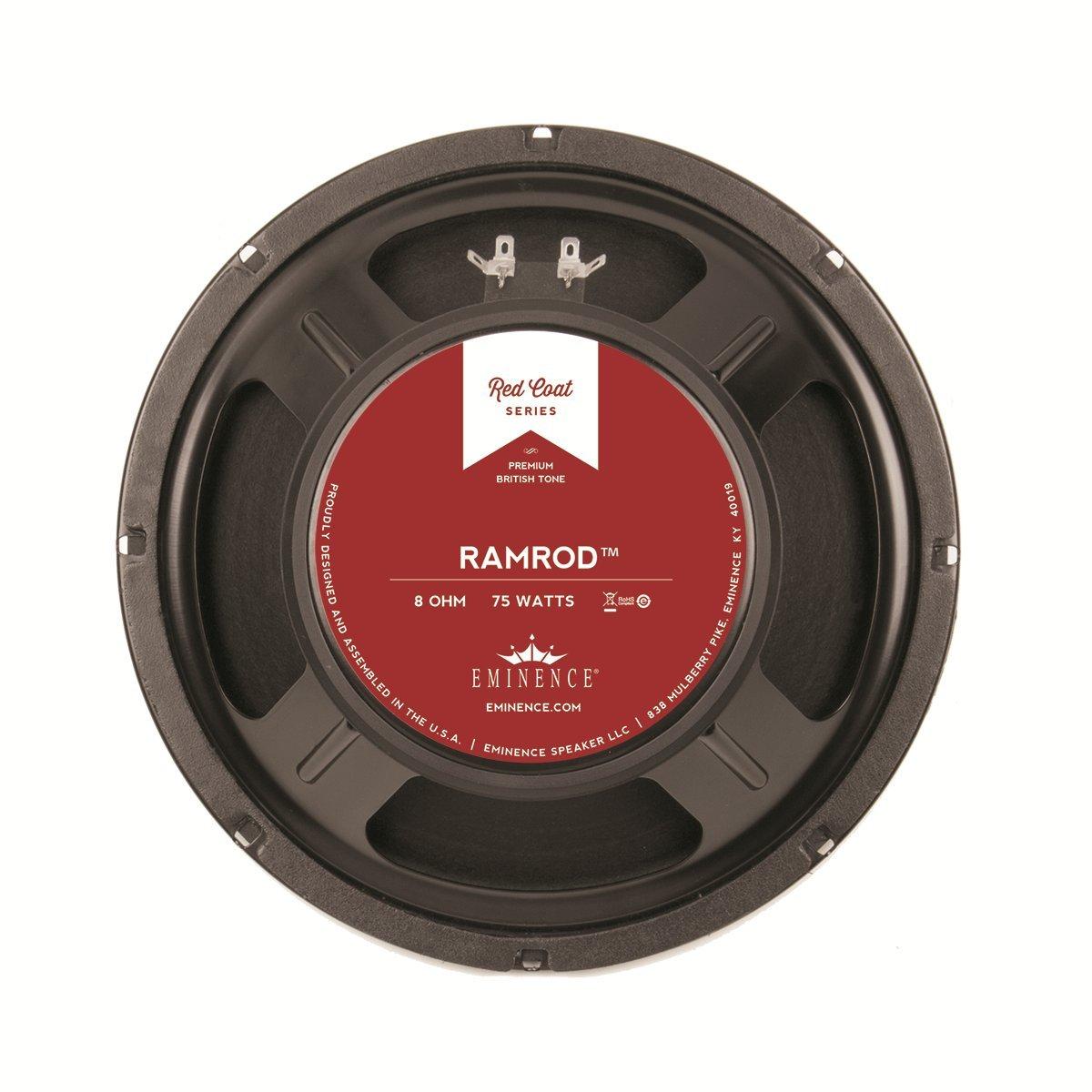 Eminence Red Coat Ramrod 10 Inch Guitar Speaker 75 Watts - (8 Ohm)