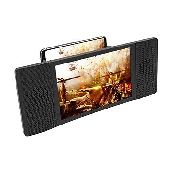 Afazfa£ Soporte de proyección HD para teléfono móvil con Altavoz ...