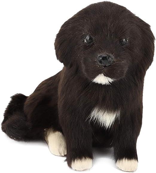 KEYREN Forma de Perro Escultura de Animales Jardín Decoración de jardín Estatua en Forma de Perro Simulación de Polietileno: Amazon.es: Jardín
