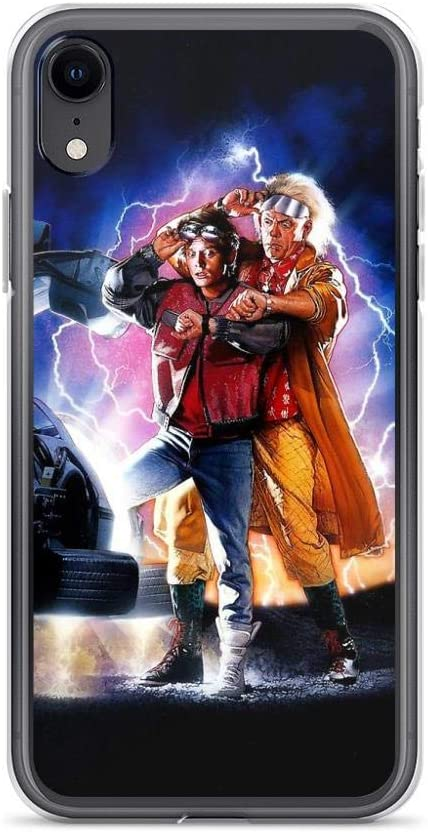 Back to The Future II Coque Transparente pour iPhone X/XS, XR, XS ...