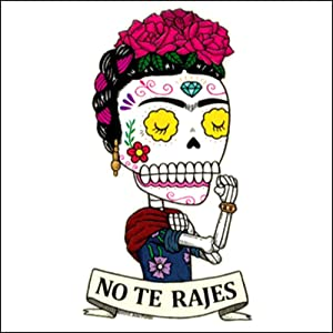 Frida the Riveter - Weather Proof Die Cut Vinyl Day of the Dead Sticker